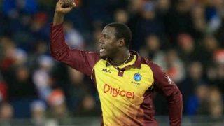 टी20: ब्रेथवेट, गेल, ल्यूस चमके, वेस्टइंडीज ने इंग्लैंड को 21 रन से हराया