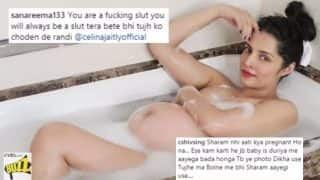 Pregnant Celina Jaitly Shows Off Baby Bump in Naked Bathtub Picture With Strong Caption, Gets Slut Shamed by Internet Trolls