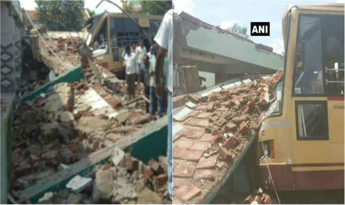 9 killed as bus stand roof collapses in Tamil Nadu