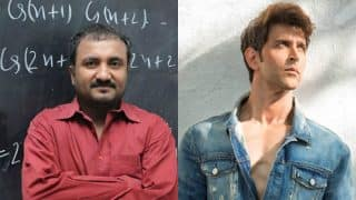Hrithik Roshan Is The Best Choice For My Role, Says Mathematician Anand Kumar
