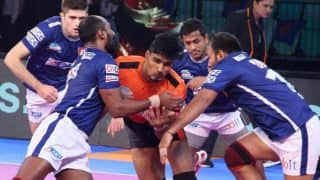 Dabang Delhi KC vs U Mumba PKL 5: Narrow Win For Mumbai Over Delhi