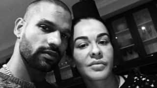 Shikhar Dhawan Glad to be With Wife Ahead of Her Surgery