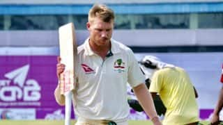 Ashes 2017: Australia's David Warner Hit by Neck Injury Ahead of First Test in Brisbane