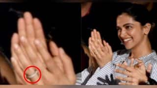 Deepika Padukone SPOTTED With A Mysterious Ring; Has She Taken Her Relationship With Ranveer Singh To The Next Level?