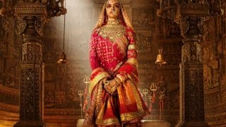 Deepika Padukone Took Only 30 Minutes To Get Her Padmavati Look?