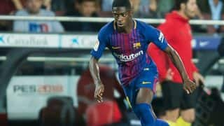 Barcelona's Ousmane Dembele Out For 4 Months Due to Thigh Injury