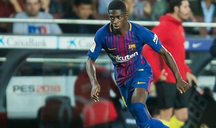 Ousmane Dembele. (Twitter: Barcelona)