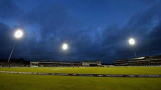 Durham Stand Collapses Partially During T20I Match Between England And Windies