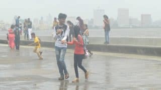 Heavy Rains Batter Mumbai, Delay Local Trains; High Tide Expected at 11:40 PM