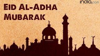 Eid Mubarak 2017 Wishes: Best Bakrid WhatsApp Gif Images, SMSes, Quotes & eCards to Send Happy Eid al-Adha Greetings