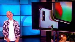 Ellen DeGeneres Takes A Dig At Apple's iPhone X In This Viral Video And It Will Surely Make You Laugh Out Loud