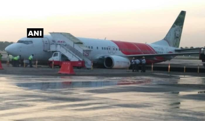 Air India Express aircraft veers off taxiway at Kochi Airport