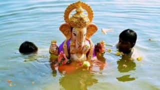 Ganesh Visarjan: Watch Famous Lalbaugcha Raja Visarjan Procession