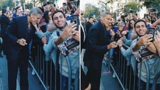 George Clooney's Encounter With This Elderly Woman Who Grabbed His Chin At The Toronto International Film Festival Made Her An Internet Sensation