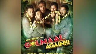 Ajay Devgn And His Gang Are Scared To Death In The New Poster Of Golmaal Again