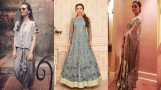Navratri 2017 Day 3 Color Grey: Top 4 Ways to Wear Gorgeous Grey Festive Outfits