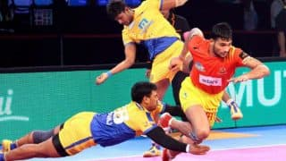 Gujarat Fortunegiants vs Tamil Thalaivas PKL 5: Chennai Beat Gujarat 35-34 in Thriller