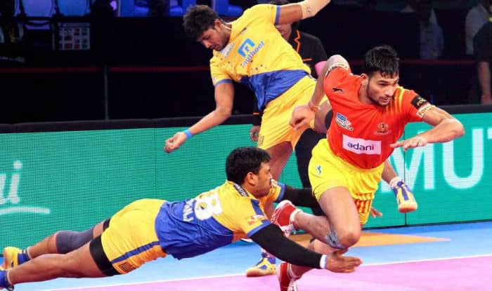 Tamil Thalaivas vs Puneri Paltan, Gujarat Fortunegiants vs