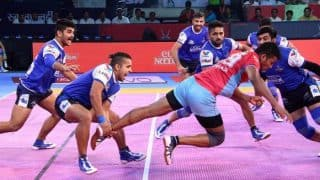 Haryana Steelers vs Jaipur Pink Panthers PKL 5: Haryana, Jaipur Play Out Thrilling 27-27 Draw