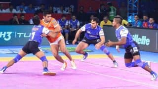 Pro Kabaddi League 2017: Haryana Steelers Edge Out Telugu Titans