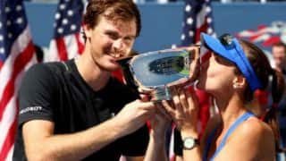US Open: Martina Hingis and Jamie Murray Win Mixed Doubles Final