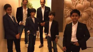 Hrithik Roshan And Sons Suit Up For An All Boys Night Out