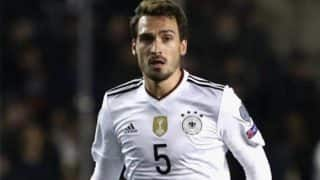 FIFA World Cup Qualifiers: Hummels Header Edges Germany Closer to Russia