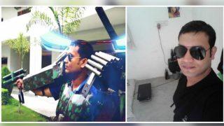 Varanasi Man Wants to Help Indian Army Fight Terrorism: Shyam Chaurasia Creates A Suit Like Iron Man