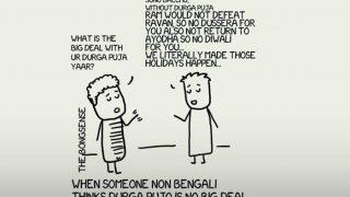 Durga Puja 2017 LIVE: Jawed Habib Salon, Ganesha Eating Meat, Bengali Durga Puja
