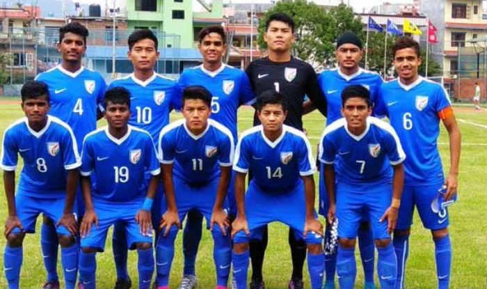 India U-16 football team. (ANI image)