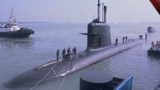 Make in India: INS Kalvari, First Indian Scorpene Submarine Build At Mazgaon Docks, Handed Over to Navy