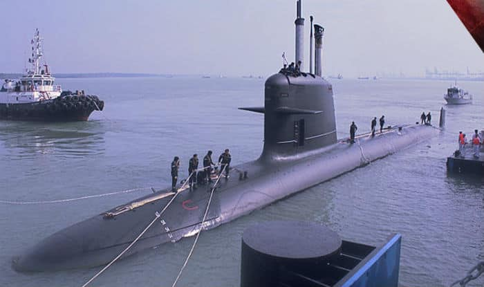 Make in India stealth submarine handed over""