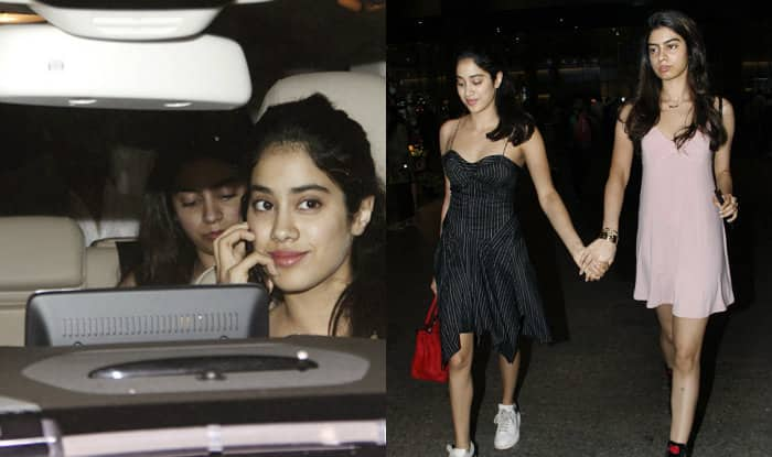 Stylish sisters: Jhanvi and Khushi Kapoor take over airport fashion