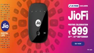Reliance Jio Slashes JioFi Dongle Price to Rs 999 During Festive Season; How to Book and More