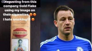 Gold Flake Cigarettes Have Footballer John Terry's Photo For Smoking Kills Warning & He is Not Happy About It
