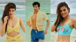 Judwaa 2 Song Aa Toh Sahi: Jacqueline Fernandez, Taapsee Pannu Sizzle In Bikinis, While Varun Dhawan Flaunts His Hot Bod
