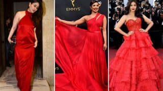 Navratri 2017 Day 6 Colour Red: Kareena Kapoor Khan, Priyanka Chopra And Aishwarya Rai Bachchan Slay It In Their Crimson Gowns