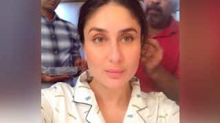 Kareena Kapoor Khan Is Getting Ready To Begin The Shoot Of Veere Di Wedding But Where Is Taimur? Watch Video