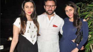 FamJam! Karisma Kapoor's Pic With Kareena Kapoor Khan And Saif Ali Khan Cannot Be Missed