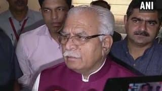 Farmers Don't Have Any Issue, Their Protest is Unnecessary: Haryana CM Manohar Lal Khattar