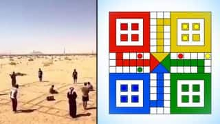 This Viral Video Of Life-Sized Ludo Played With Human Pawns In The Desert Will Make You Laugh Out Loud