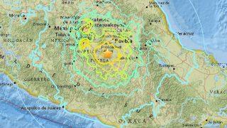 VIDEO: मेक्सिको में फिर आया 7.2 तीव्रता का भूकंप, लोगों में डर का माहौल