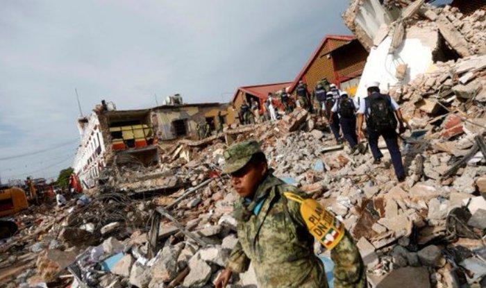 File image of Mexico earthquake