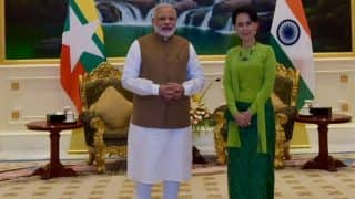Narendra Modi Meets Aung San Suu Kyi, Says Deepening Relationship With Myanmar a Priority For India
