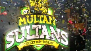 Pakistan Super League: Wasim Akram Unveils Logo of Multan Sultans, Tom Moody Appointed Coach