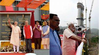 World Bank Refused Funding of Sardar Sarovar Dam, Temples of Gujarat Raised Money For It: Prime Minister Narendra Modi