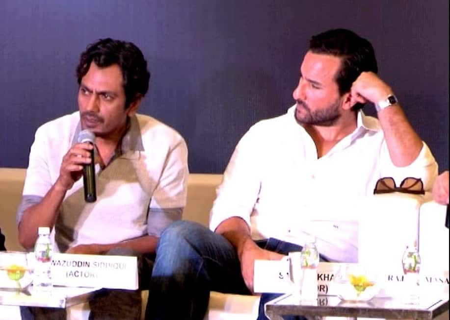 Why Are Saif Ali Khan And Nawazuddin Siddiqui Shooting Separately For Sacred Games?