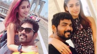 Nayanthara's Adorable Picture with Rumoured Boyfriend Vignesh Shivam In New York Is Giving us Intense Love Goals