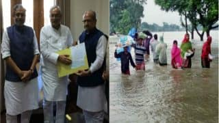 Bihar Floods: 7 Years After Rejecting Modi's Aid, Nitish Kumar Accepts Rs 5 Crore Cheque From Gujarat Govt