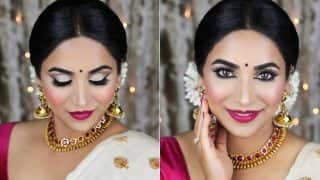 Onam 2017: Traditional Kerala Makeup Tutorial to Look Gorgeous on Thiruvonam!